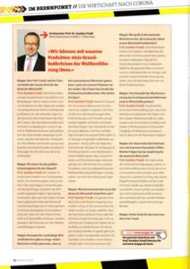 Prof. Dr. Gunther Friedl (TU München) Interview Mappe